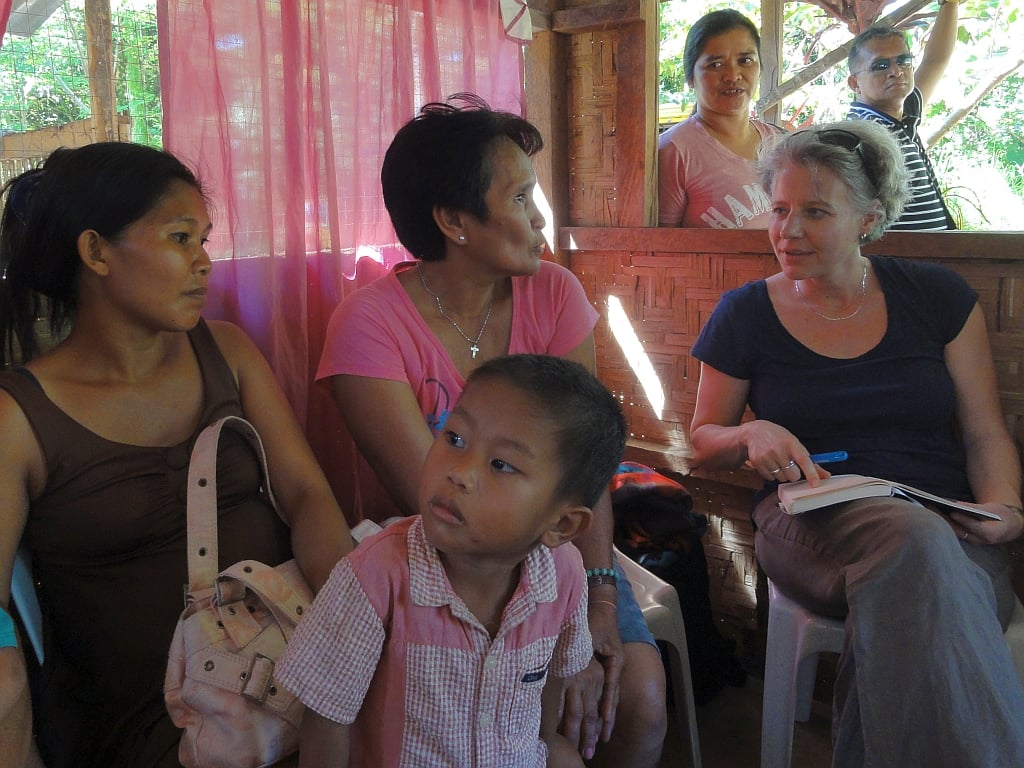 Photo: Meeting eye to eye: Visit to a partner project in the Philippines, © WGT e.V.
